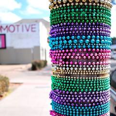 MOTIVE (jeneksmith) Tags: colors canon beads rainbow colorful neworleans uptown motive nola mardigras crescentcity bigeasy gardendistrict magazinestreet canoneos70d