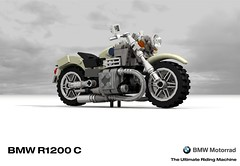BMW R1200C Motorcyle (James Bond - Tomorrow Never Dies)) (lego911) Tags: auto life film bike germany movie death james lego render motorbike 101 german spy bmw motorcycle bond 1200 1997 mode cruiser challenge 1990s cad lugnuts povray matter motorrad r1200c moc ldd miniland tomorrowneverdies amatteroflifeanddeath lego911