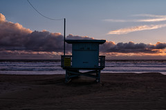 ave 26. venice beach, ca. 2016. (eyetwist) Tags: ocean california pink venice winter sunset seascape storm postprocessed tower beach water silhouette clouds photoshop golden la stand losangeles los amazing saturated sand nikon exposure surf waves shadows pacific wind angeles horizon wide windy lifeguard hut pacificocean socal filter venicebeach nik ripples nikkor incredible processed cloudporn baywatch goldenhour westla elnino postprocessing ofw 18200mm angeleno alienskin oceanfrontwalk alienskinexposure eyetwist colorefex 26thavenue ave26 d7000 eyetwistkevinballuff 18200mmf3556gvrii
