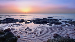 Morning brilliance (khalid almasoud) Tags: city seascape nature sunrise landscape sand sony photographers kuwait خالد تصوير الكويت المسعود dscrx100m2 sonyrx100ii