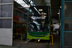 On Delivery (reynardbizzar) Tags: new white southern 400 vectis destination dennis hanover brand enviro hse dispaly hj16 hj16hse
