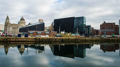 Liverpool Docks (Matthew Proffitt) Tags: city uk reflection liverpool docks nikon 24mm nikkor dslr liverbuilding nikond600