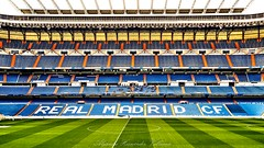 Real Madrid C.F. (Alejandro Hernández Valbuena) Tags: madrid city santiago grass sport architecture modern real goal team spain europe stadium euro soccer lawn gram score futbal gol bernabeu