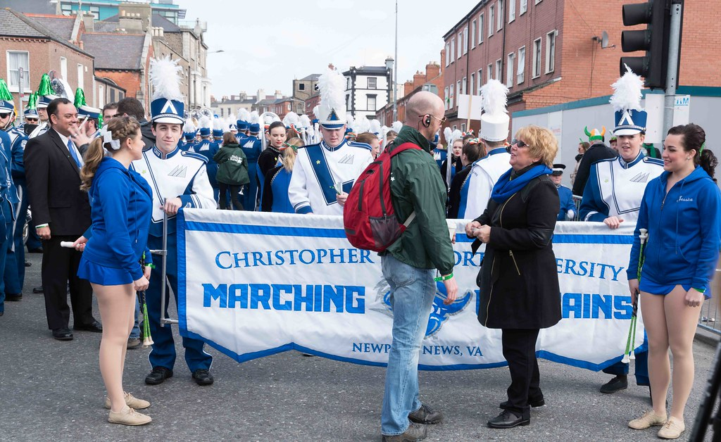 Christopher Newport University Marching Captains-112403