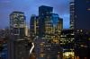 La Défense (Julianoz Photographies) Tags: city light paris buildings îledefrance cityscape lumière eiffeltower capitale 92 idf ladéfense traficlight vueaerienne heurebleue hautdeseine tourfirst nikond610 julianozphotographies nikkorafs18–35mmf35–45ged