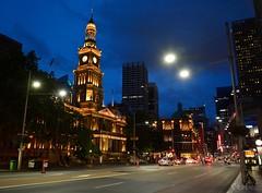 Sydney Townhall at Night