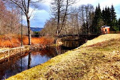 Enjoy the spring. (Geli Norway) Tags: norway river spring quiet skien