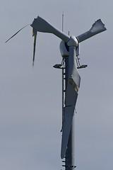 Been through the mill? (velton) Tags: mill broken windmill electric scotland power wind farm scottish generator damage blade incident blades dumfries galloway stranraer dissintegrate