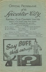 Leicester City v Everton 1938-39 (Bob Latchford) Tags: