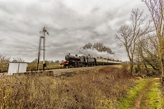 WSR_2016_03_11_049 (Phil_the_photter) Tags: watersmeet minehead leighwoods wsr 7f westsomersetrailway 8f 53808 53809 34098 standardtank templecombe 48624 80043 80072 roebuckcrossing