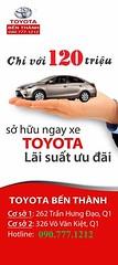 HOT HOT HOT CHNG TRNH C BIT DNH RING CHO KHCH HNG LI XE UBER !!!!!!!!!!!!!! Vay mua xe mi n 95% Khng cn chng minh thu nhp Nhn xe trong vng 02 ngy Mi chi tit vui lng lin h: Hotline 090.777.1212 - 090.777.1268 #ToyotaBenThanhOnline (toyotabenthanhonline) Tags: ben toyota thanh xe trong gi khu nc tphcm nhp