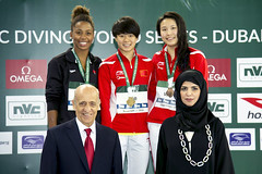 FINA/NVC Diving World Series 2016 - Dubai (fina1908) Tags: 2016 fina nvc diving worldseries tuffi dubai 3mwomenpodium unitedarabemirates uae dws dws16