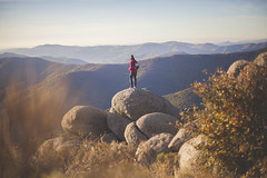 _6408 (Capelle.R) Tags: travel camping autumn red france mountains fall nature yellow stone montagne trek canon landscape 50mm alone sweet hiking hike fallen vibes romain gard cevennes lozere capelle 5dm2