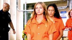 h50503_01750 (UJB88) Tags: county orange women uniform prison jail facility jumpsuit correctional restrained