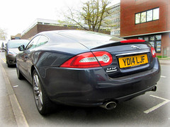 2014  Jaguar XK - Signature.. (John(cardwellpix)) Tags: uk west woking signature surrey april jaguar friday 22nd 2014 xk 2016 byfleet