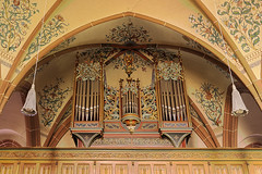 Orgel Marienkapelle Rheinbllen (doerrebachtaler) Tags: hdr hunsrck stiftung rheinbllen marienkapelle puricelli puricellistift