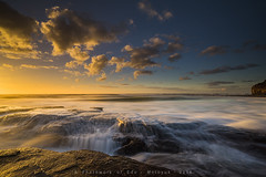 Austinmer (edokurniawan) Tags: beach sunrise landscape sydney nsw nisi austinmer longshutterspeed gnd motoyuk
