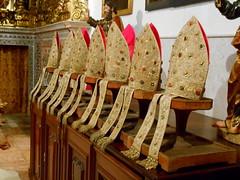Lisbon (Chris Draper) Tags: portugal gold cathedral lisbon mitre jewel mitres bejewelled lisboncathedral bishopsmitre