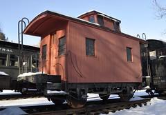 Arkville, New York (7 of 18) (Bob McGilvray Jr.) Tags: wood railroad ny newyork train wooden tracks historic caboose cupola bobber arkville nyow newyorkontariowestern delawareulsterrailroad