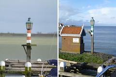 Harbour lights at Volendam, Holland. (piktaker) Tags: lighthouse holland netherlands volendam navigationlights