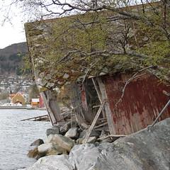 Vrbitt naust -|- Battered seahouse (erlingsi) Tags: abandoned decay weathered sq volda seahouse naust vrbitt kystkultur