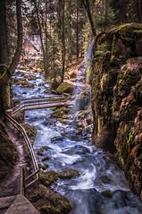 Waterfall (jeffrey.delaere) Tags: bridge nature water beautiful contrast germany waterfall long exposure le