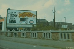 tiger-in-tank campaign (Ultrachool) Tags: holland netherlands advertising billboards esso imperialoil