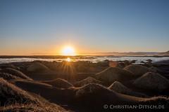 Island | Stokksnes (chr.ditsch) Tags: winter sunset island licht is iceland sonnenuntergang natur landschaft hdr farben qf querformat stokksnes hdrbild