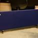 Desk screen navy fabric