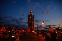 Koutoubia Mosque (michalkesy) Tags: mosque marrakesh morro koutoubia