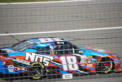 Kyle Busch Leads (cjacobs53) Tags: auto california car club race speed fast nascar jacobs fontana rancho speedway cucamonga jacobsusa