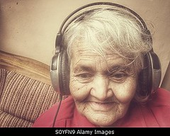 Photo accepted by Stockimo (vanya.bovajo) Tags: old music woman home senior fashion lady female relax fun women adult natural grandmother song relaxing listening mature elderly single headphones granny chill hearing headphone listen iphone iphonegraphy stockimo