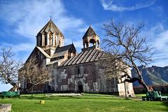 Gandzasar monastery... Artsakh, Armenia. (daniel2085) Tags: building church architecture spring medieval monastery armenia armenian vank armenie karabakh gandzasar artsakh martakert khachen armenianhighland