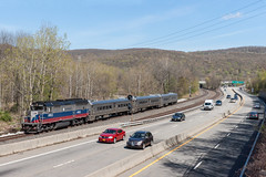 Commuting on the Southern Tier (sullivan1985) Tags: new york railroad ny port train railway line southern mta tier jervis metronorth emd sloatsburg mncw gp40fh2m
