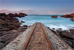 Ploumanac'h [EXPLORE] (guillaumez.wix.com/photographie) Tags: ocean beach rose rocks bretagne olympus breizh explore granite perros cote paysage britany ploumanach guirec oceanscape explored em5