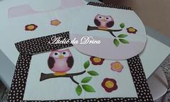 Jogo de Banheiro Corujinha Rosa (Ateliê da Drica) Tags: patchwork apliqué corujinha aplicaçao jogodebanheiro