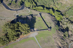 Aerial view of Fort Ross State Historic Park, Sonoma County, California (cocoi_m) Tags: california aerial highway1 sonomacounty russian aerialphotograph fortross fortrossstatehistoricpark