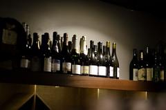 Shine On My Wine (jeffreymbhibbard) Tags: seattle city sunset food art bar restaurant harbor nikon cityscape place wine professional jeffrey mb waiter pigalle hibbard d7000 nikond7000