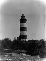 Isokari; majakka lähikuvassa (KansallisarkistoKA) Tags: lighthouse beacon 1891 majakka isokari