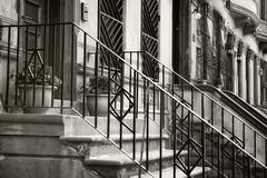 Brownstone Row II_bw (Joe Josephs: 2,650,890 views - thank you) Tags: newyorkcity travel newyork architecture buildings seasons realestate centralpark manhattan urbanlandscapes fineartphotography travelphotography fineartprints urbannewyorkcity joejosephs joejosephsphotography