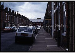 North Road area housing (Darlington Local Studies Picture Collection) Tags: cars darlington housing 1990s northernengland terracedhouses
