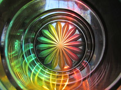light is energy (margeois) Tags: distortion abstract glass spiral spectrum prisms
