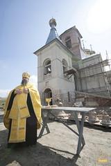 06. Consecrating of the bells in Adamovka Village / Освящение колоколов в Аламовке