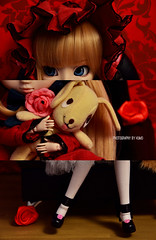 Details | Pullip Shinku RMT (Kumo~Milk^^) Tags: doll eyelashes wig groove rozenmaiden rmt shinku obitsu junplanning kunkun rewigged rozenmaidentramend