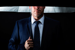 untitled . (helmet13) Tags: man me umbrella studio fun raw flash tie business protection businesssuit confidential selfie reliability aoi darkbackground 100faves peaceaward strobeunit heartaward world100f d800e