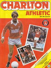 Charlton Athletic vs Reading - 1981 - Cover Page (The Sky Strikers) Tags: road cup magazine reading football athletic parade valley to league wembley charlton the matchday 40p