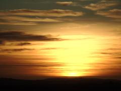 Sunrise from Inganess (stuartcroy) Tags: sea sky beautiful sunrise island scotland still orkney scenery sony inganess