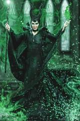 MALEFICENT (ArtNinjaph) Tags: woman black art photomanipulation photoshop dark photography power cosplay witch ninja magic surreal fairy fantasy heroin horn mistress villain cinematic curse maleficent sorcery artninja artninjaph
