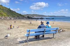 Oh, I do like to be beside the seaside.... (Baz Richardson) Tags: coast seaside rocks cornwall cliffs looe sandybeaches