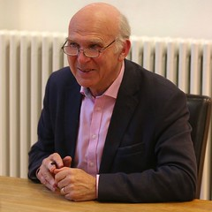 Vince Cable Hexham 1 (ianwyliephoto) Tags: afterthestorm northumberland novel vincecable hexhambookfestival